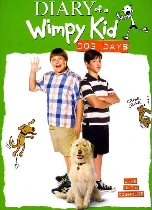 DIARY OF WIMPY KID:DOG DAYS BY GORDON,ZACHARY (DVD)
