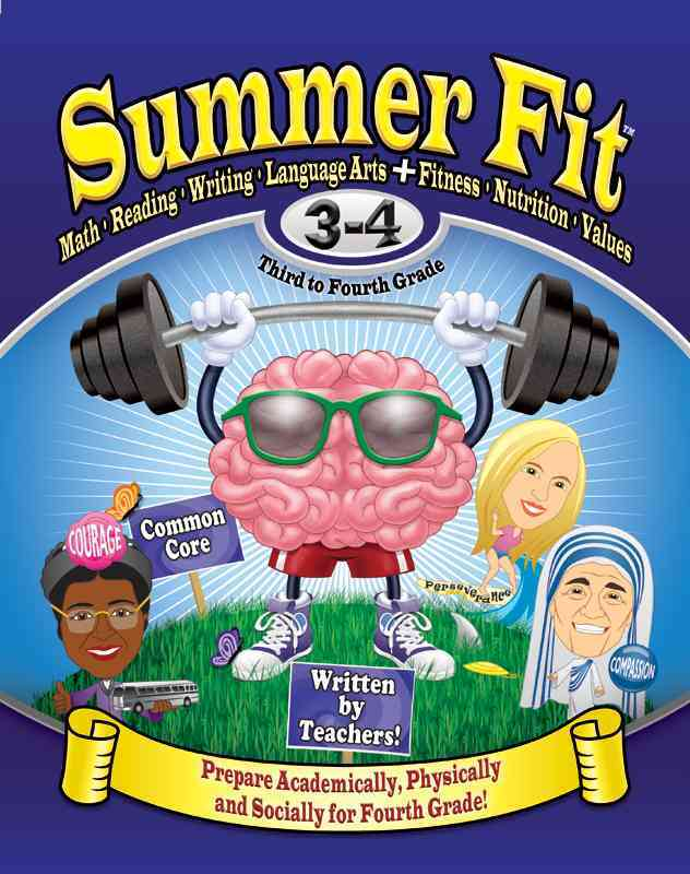 Summer Fit, Third to Fourth Grade By Terrill, Kelly